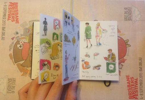 BWF 2013 sketchbook