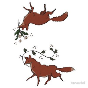 Fox stickers available on Redbubble