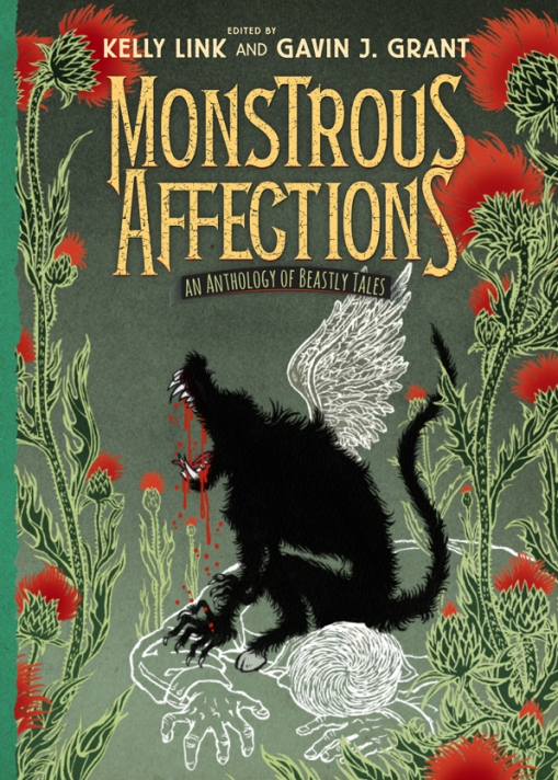 Yuko Shimizu - cover for Monstrous Affections