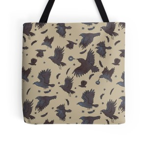 Flight of Ravens - Redbubble Bag
