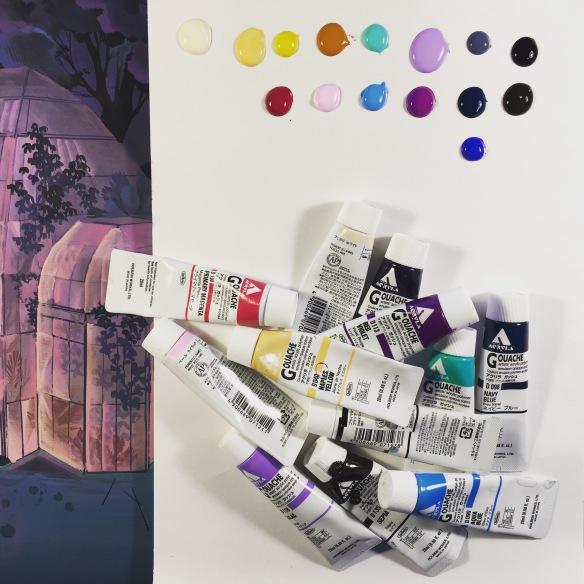 Nicole Gustafsson's palette