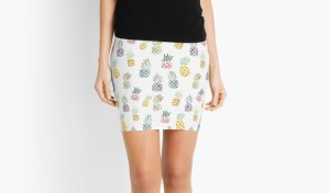 Pineapple Pencil Skirt