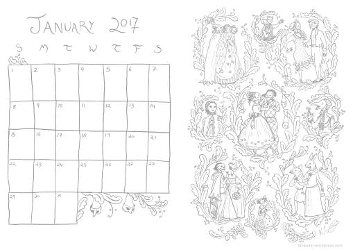 january-2017-calendar-lines