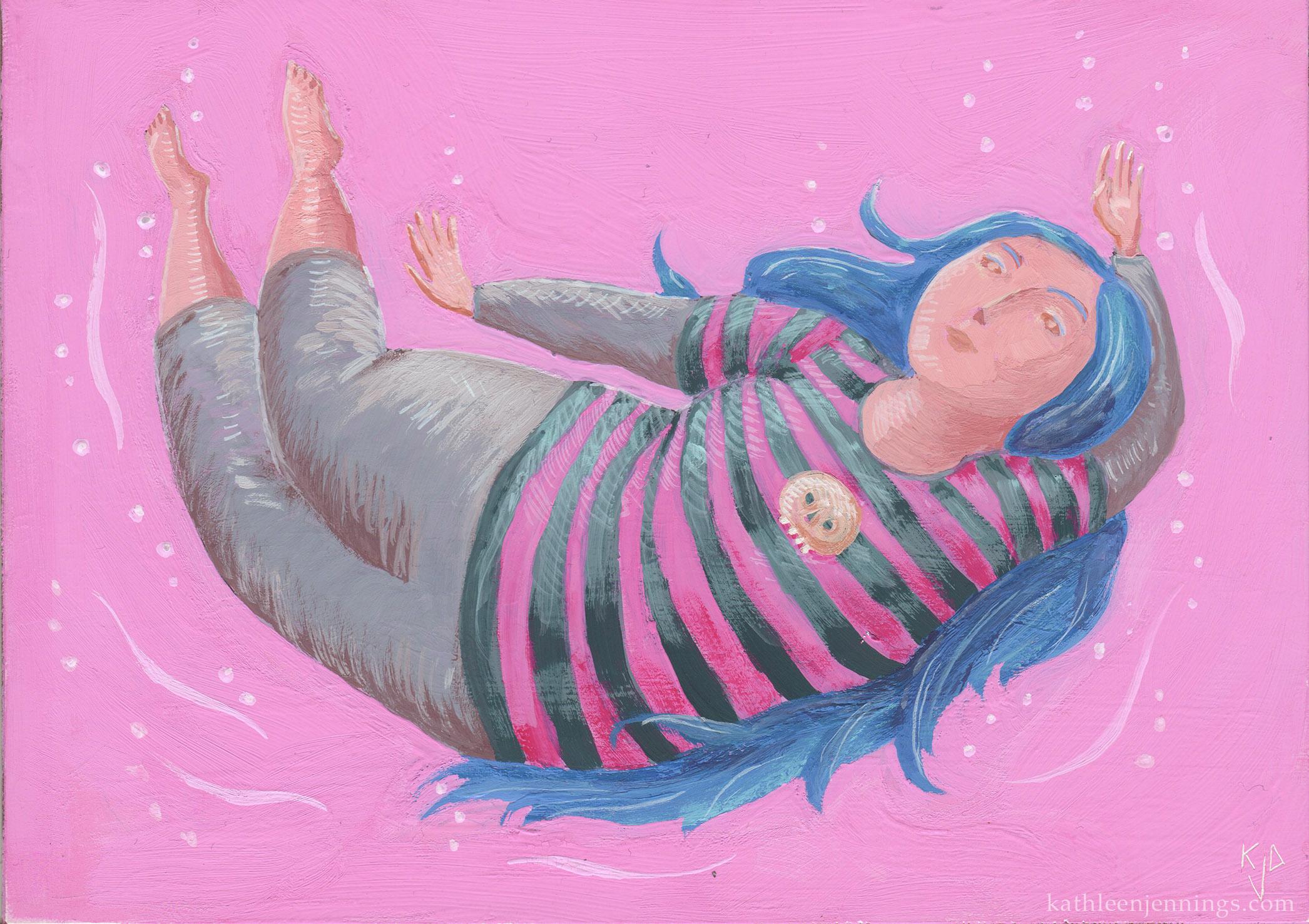 Cora Swimming