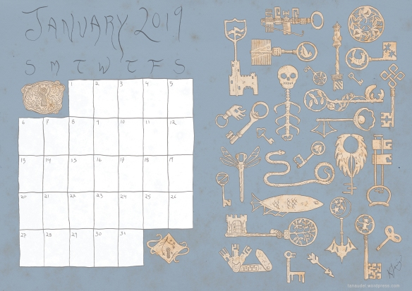 JanuaryCalendar-Colour-Blue