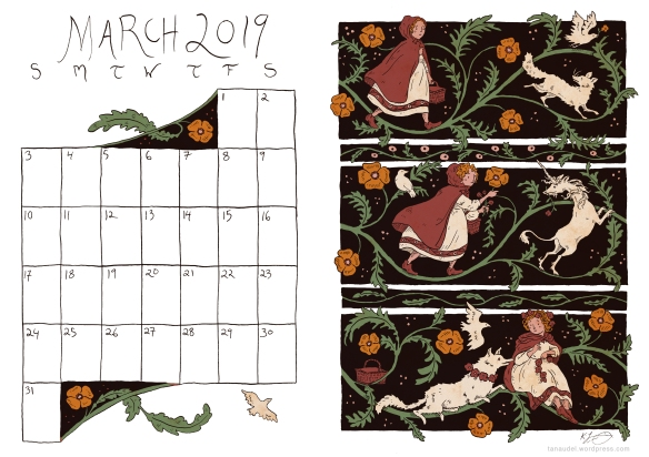 MarchCalendar-Colour-Multi