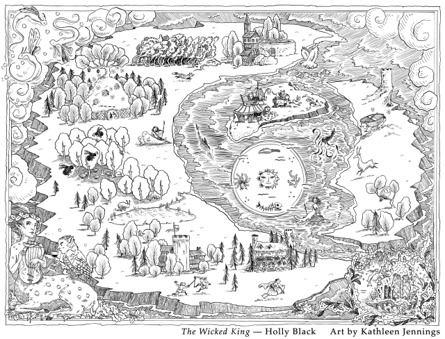 Image result for wicked king map