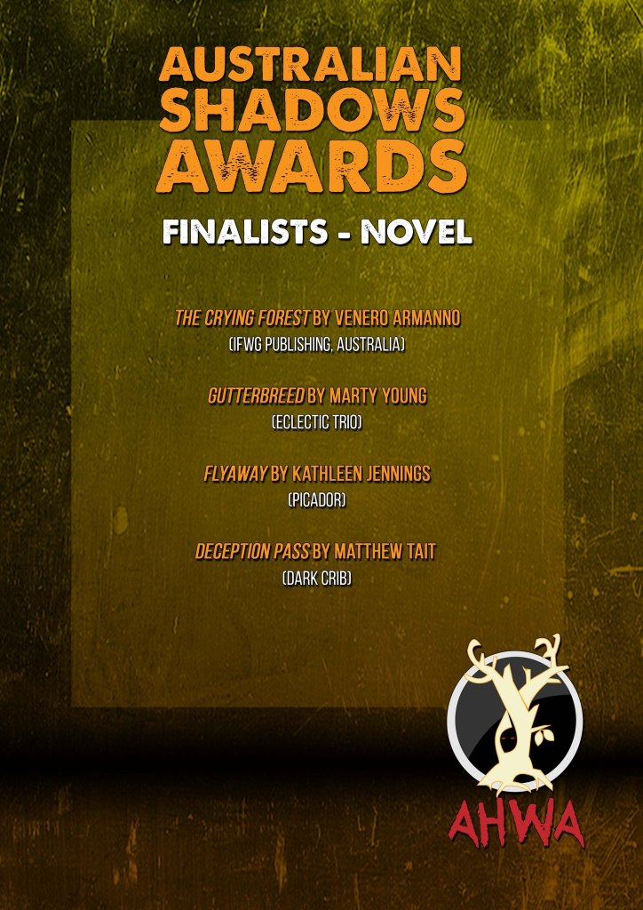 """List of finalists in """"novel"""" category"""